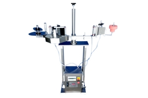 Hologram Applicator With Conveyor For Top Side Application